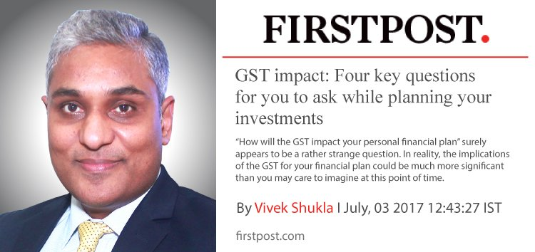 GST – Why you need to factor GST into your Financial Plan…